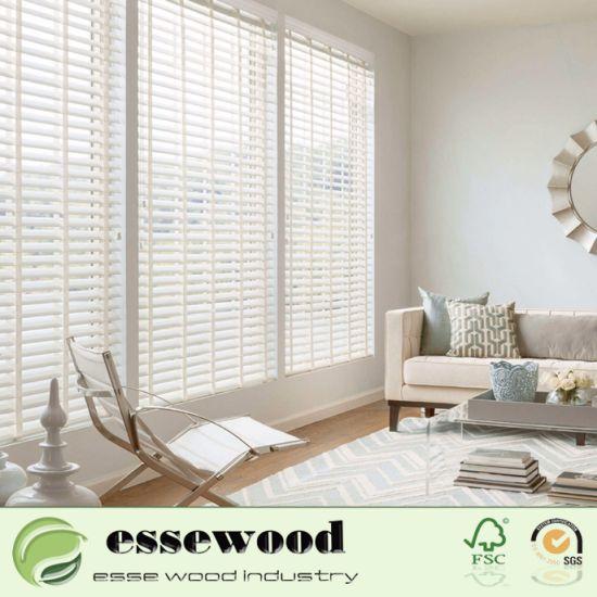 China L Frame or Z Frame Timber Wooden Basswood Shutter for Interior ...