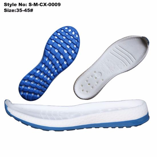 Foam Injection EVA Soles, Soft EVA Shoe Soles for Shoes
