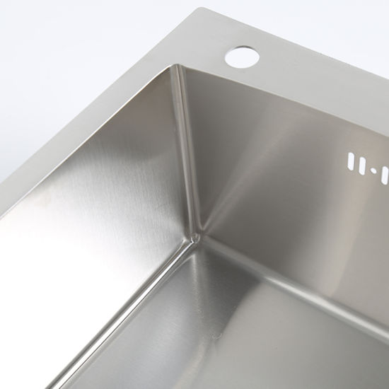Commercial Grade Brushed Industrial Kitchen Stainless Steel Sink