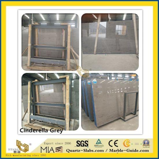 Cinderella Grey Stone Marble for Kitchen/Bathroom/Wall/Flooring/Step/Tile/Cladding