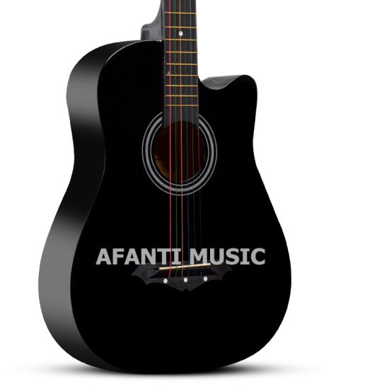 "Afanti OEM Basswood 38"" Acoustic Guitar (AAG-125) pictures & photos"