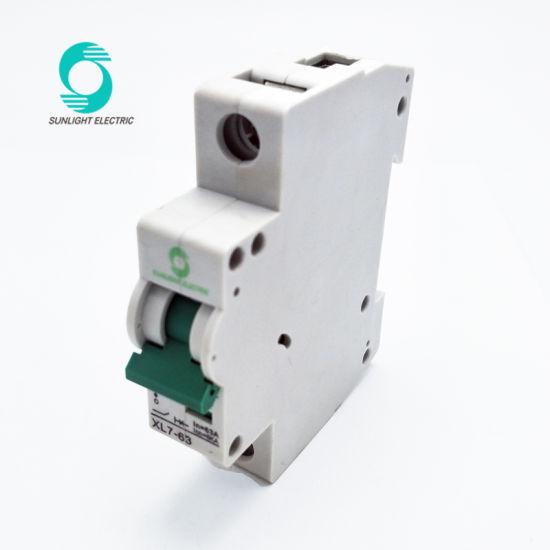 China 12V DC 1p Circuit Breaker 4 10 15 20 25 30 50 63 AMP Switch ...