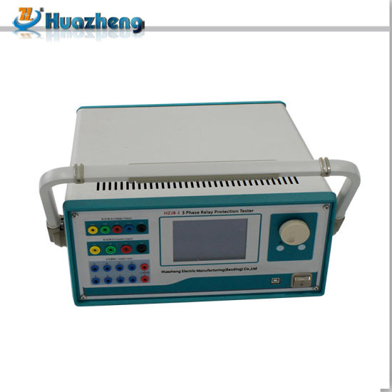 Factory Directly Hzjb-1 Three Phase Secondary Injection Relay Protection Tester pictures & photos