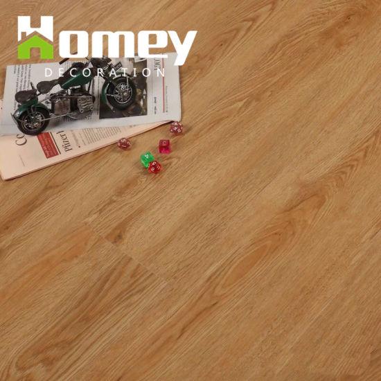 China Plastic Wood Grain Vinyl Flooringclick Flooring China Pvc