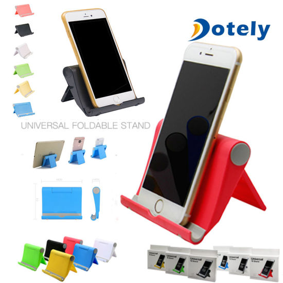 fd09726794 Universal Desktop Foldable Cell Phone Stand Holder Samsung LG iPhone Tablet  pictures & photos