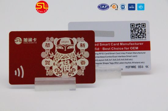 Competitive Price 125kHz Tk4100/Em4200 RFID Card pictures & photos