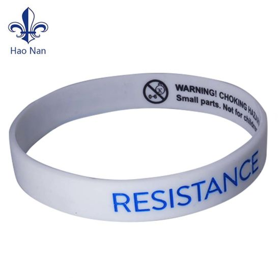 2018 Custom Silicone Wristband Bracelets For Promotion Gift Party Festival