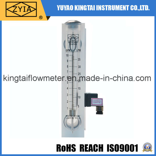 Variable Area Flowmeter with Alarm Limit Switch