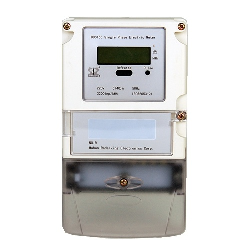 Single Phase Anti-Potential Logical Static Kwh Meter for Home Use
