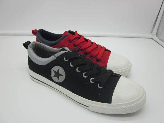 Unisex Classic Canvas Shoes Vulcanized Rubber Shoes