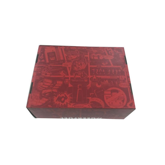 Wholesale Printed Corrugated Paper Shoe Box pictures & photos