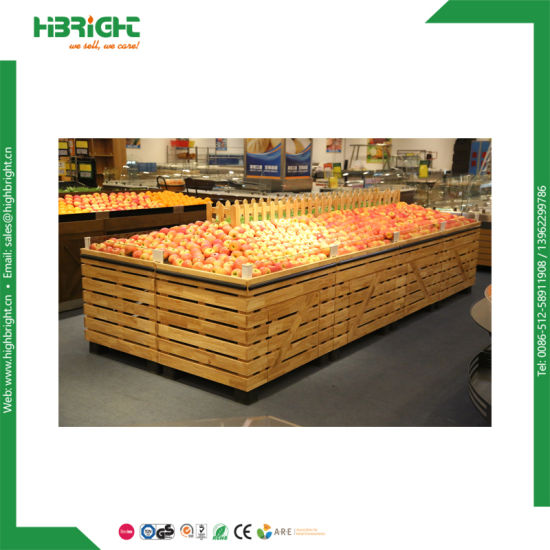 Super Store Display Shelf for Vegetables and Fruits pictures & photos