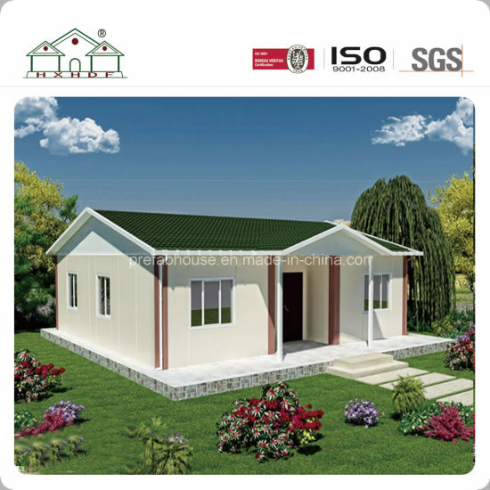 China 80 Square Meters Designs Prefab Light Steel Modular Villa