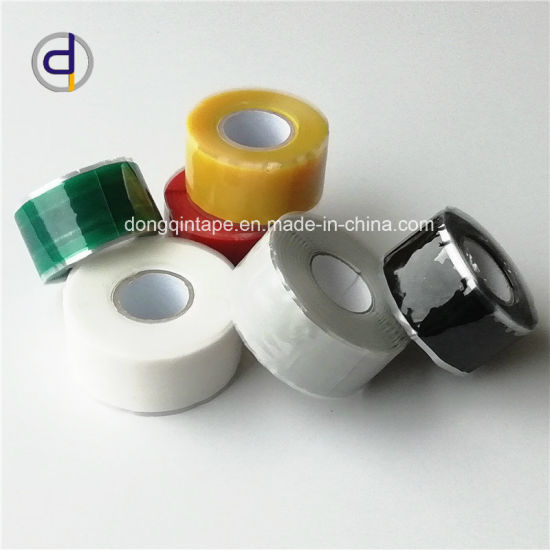 Self-Fusing Seal Repair Emergency Rescue Silicone Rubber Hose Tape Pipes Red
