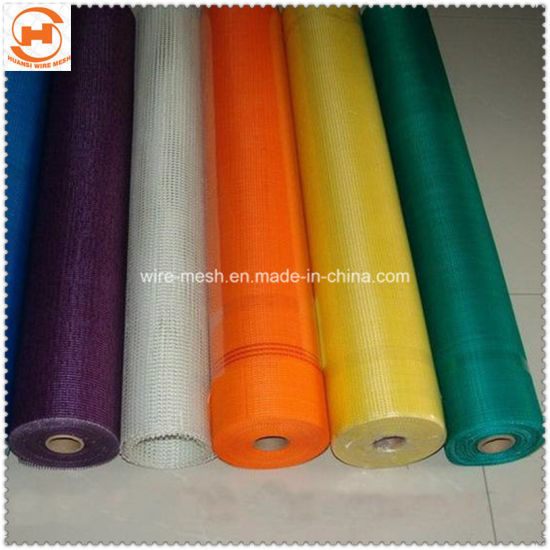 Five Colors Fiberglass Wire Mesh Tape for Protected Mosquito