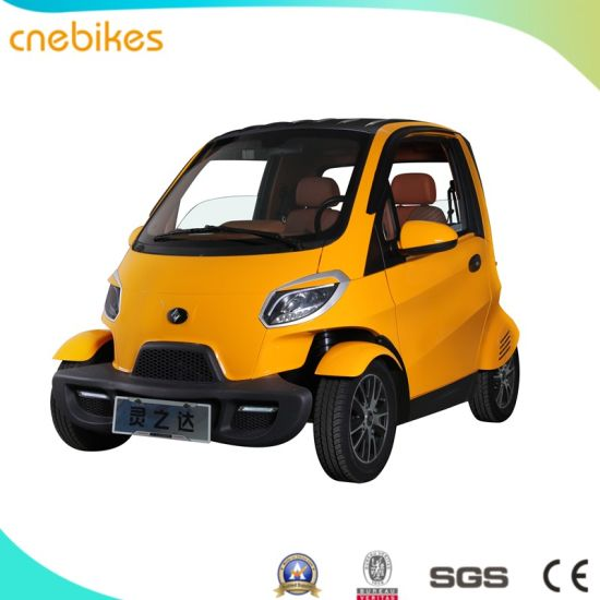 EEC L7e Electric Car 2 Seats And 55km/H DC Brushless Motor