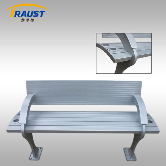 2017 New Style Aluminum Benches with Back for Sale pictures & photos