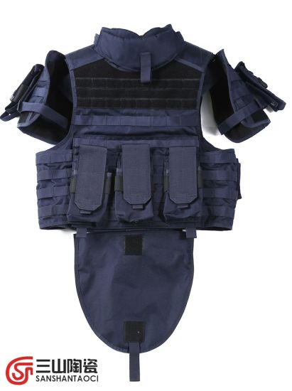Cheap Light Camouflage Protective Vest with Bulletproof Ceramic