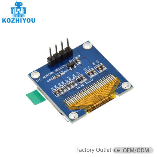 """White 128X64 OLED LCD LED Display Module For Arduino 0.96/"""" I2C IIC SerialB ce"""