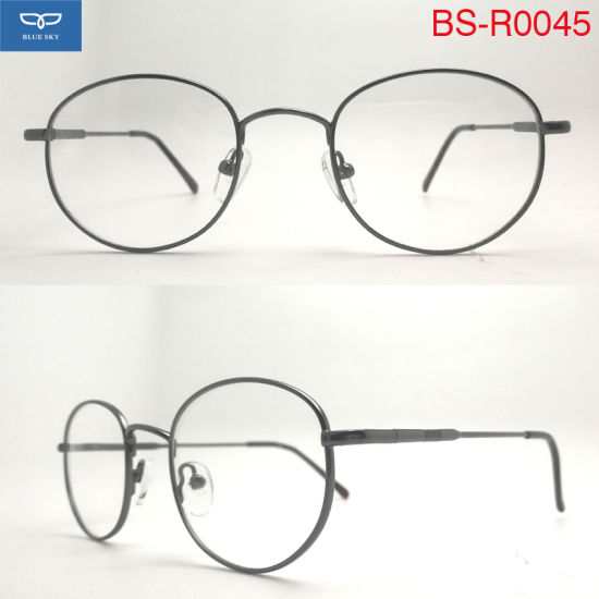 134d03a7ae2 New Fashion Metal Reading Glasses Spectacles Optical Glasses with Spring  Hinge for Men Cheap Price Good Quality Wholesale