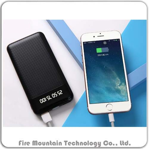 Ht-02 10000mAh Solar Portable Power Phone Charger for Cell Phone