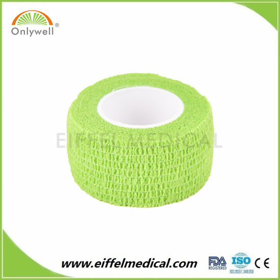 Ce ISO FDA Approval High Quality Non-Woven Cohesive Elastic Bandage