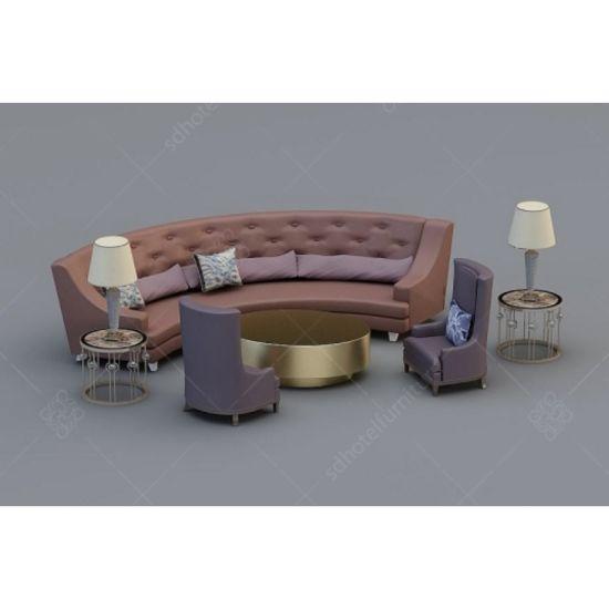 Groovy Customized Hotel Furniture Luxury Lobby Round Sofa Special For Sale Creativecarmelina Interior Chair Design Creativecarmelinacom