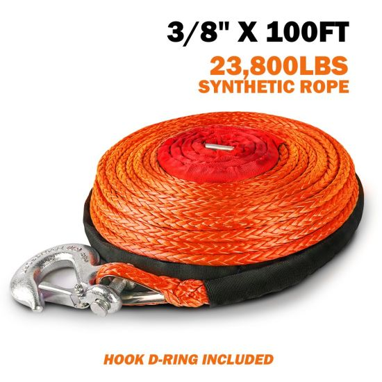 Certified Offroad 4X4 Car Accessories Synthetic Winch Rope Line