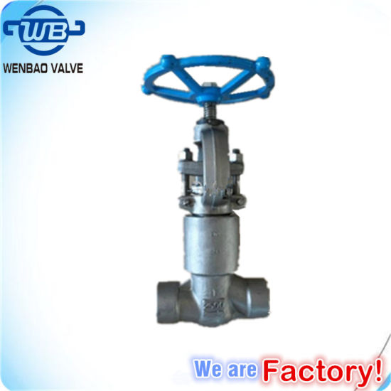 High Pressure Stainless Steel Forged Gate Valve 1500lb