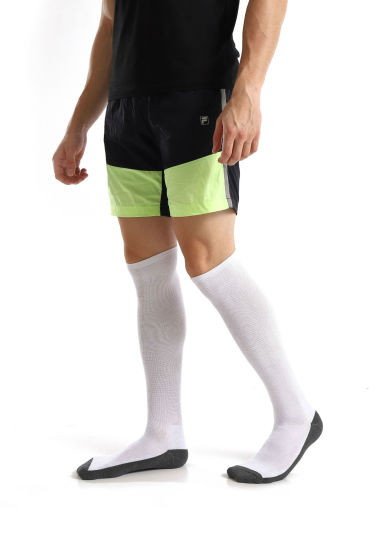 2a5f2c3a69e Cotton Compression Graduated Support Knee-High Plain Footed Socks for  Men Women