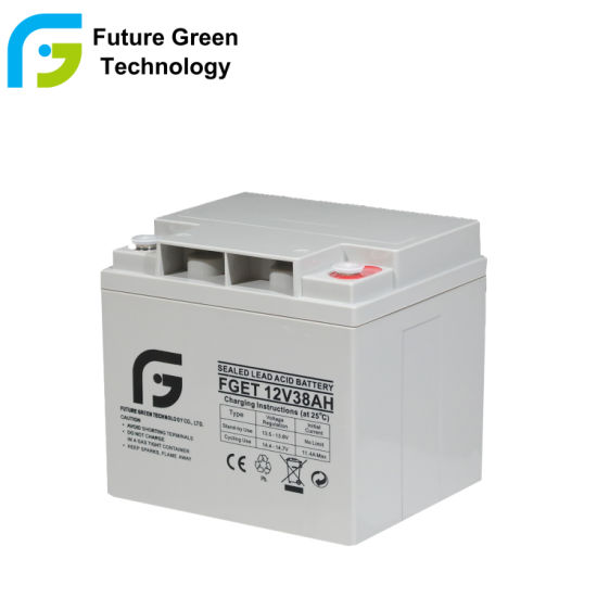12V 33ah AGM Sealed Lead Acid Leisure Battery with Good Quality