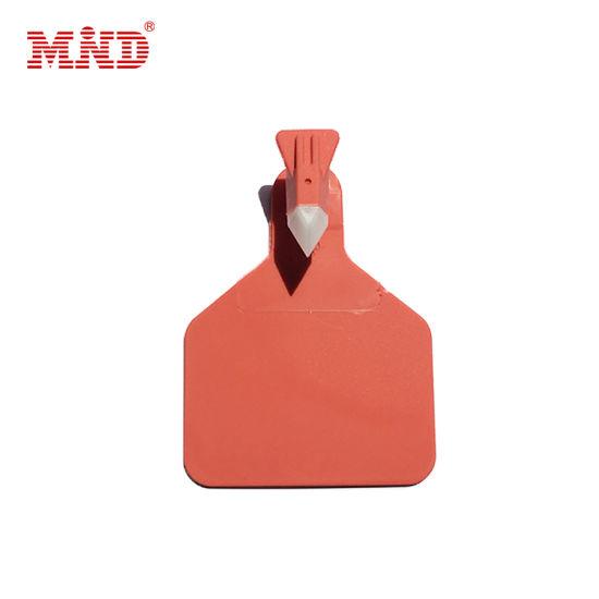 Custom Various Size Plastic RFID Smart Animal Ear Tag