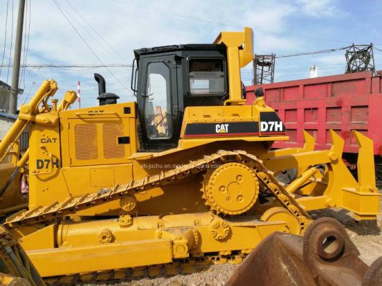 Used Cat D7h Crawler Bulldozer with Ripper /Caterpillar D7g D7r D6d D6h D6  Dozer