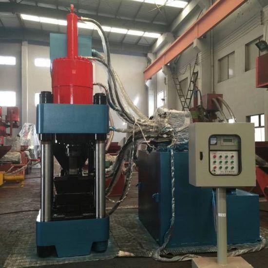 Vertical Aluminum Chips Briquette Press Scrap Metal Briquetting Machine