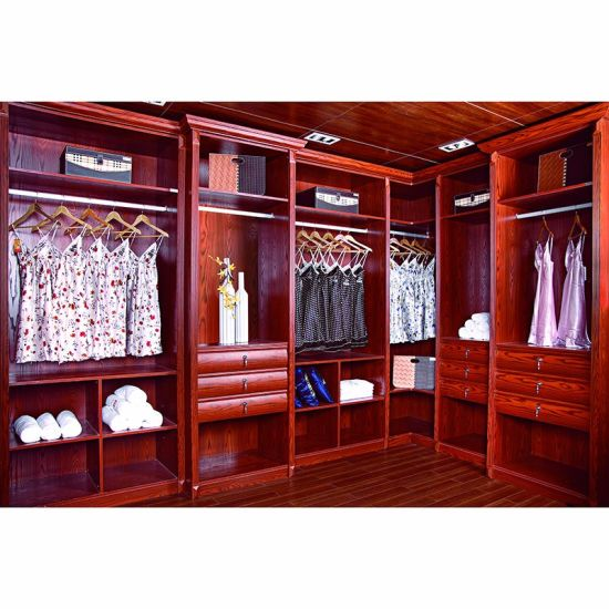 China Home Furniture Bedroom Wooden Almirah Designs Wardrobe Solid Wood Closet Yh W3008 Living Room Cabinet