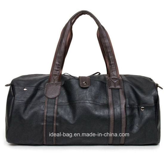 2b0d8c627b China Unisex PU Leather Travel Sport Duffle Bag