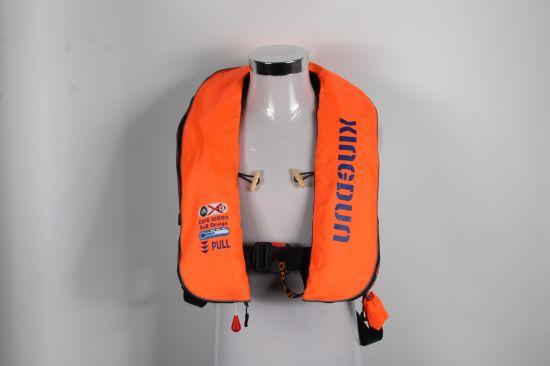 Swimming Life Vest Fishing Life Jacket 5 Sec Automatic Inflatable Top Rescue Vest 150kg Buoyancy Kayak Women/Man Life Jacket
