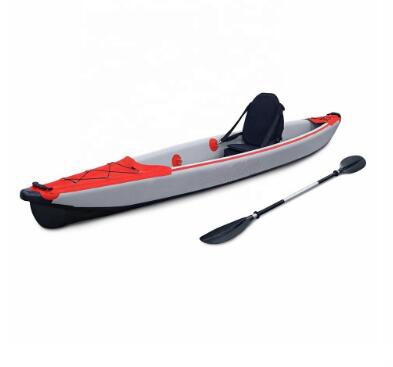 China Manufacturer 3.90m OEM Inflatable Dropstitch Single Kayak