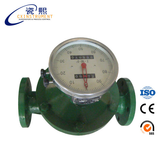 Dn10 Cheap Palm Oil Oval Gear Flowmeter Made in China pictures & photos