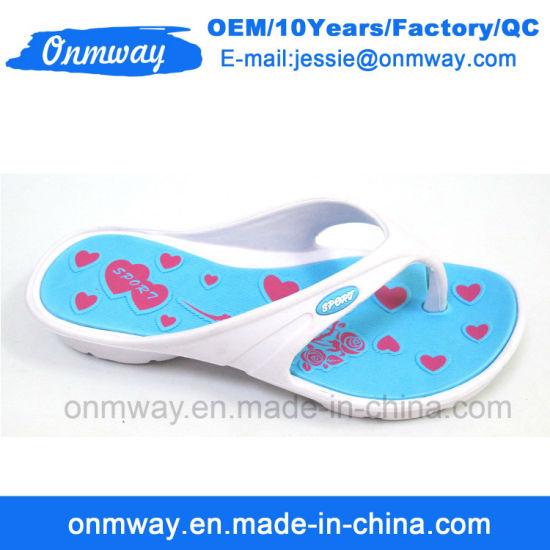 Outdoor EVA Woman Flip Flop Shoes