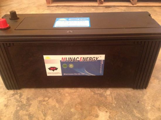 Factory Outlets! N150mf 12V150ah Maintenance Free Truck Battery pictures & photos