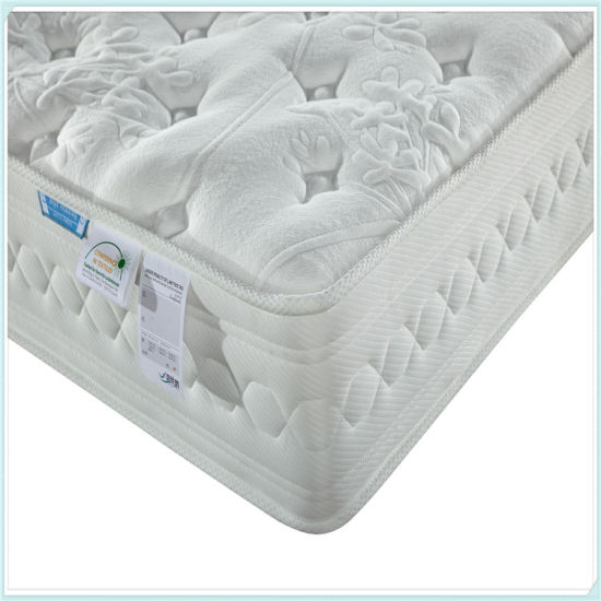Good Sleeping Double Layer Pocket Spring Mattress pictures & photos