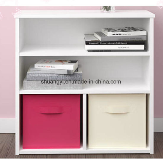 Hot Sale Simple Wooden Bookcase Bookshelf for Sale pictures & photos