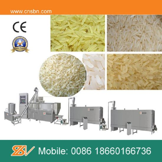 Instant Rice Restructuring Machine pictures & photos