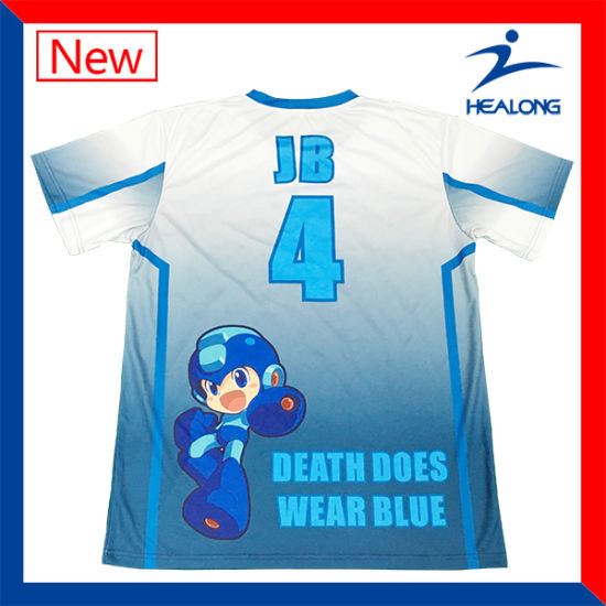 Healong Teamwear Customized Polyester T-Shirts for Event Using Shirt pictures & photos