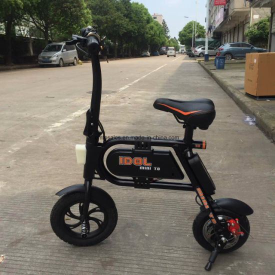 2016 New 800W Three Wheel Electric Scooter with Brushless Motor Et-Es002-New pictures & photos