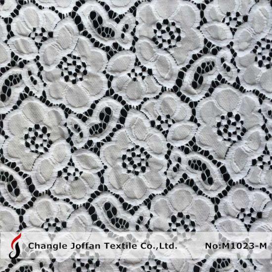Thick Cotton Floral Lace for Sale (M1023-M)
