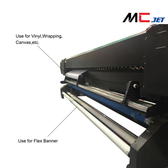 China 52 Inch Large Format Eco Solvent Digital Flex Printing Machine