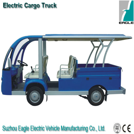 Passenger and Cargo-Bed Vehicle with 4 Seats pictures & photos