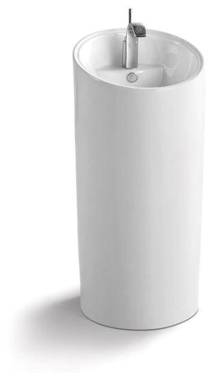 Pedestal Ceramic Wash Basin CE-D305